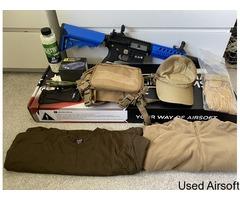 Rock River Arms SA-E11 Edge Carbine Two Tone Blue, Bundle