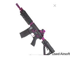 G&G Armament GR4 G26 Combat Machine AEG Blowback Black Rose