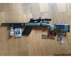 FULLY Upgraded VSR-10 Sniper with SCOPE, SUPRESSOR, SPARES, and BBS