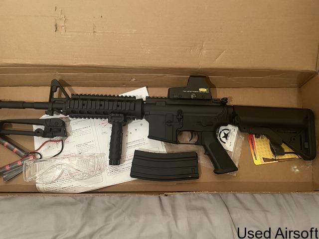 WE KATANA M4 AEG - 1