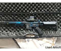 Cybergun Blast Blue Fox Edition COLT M4