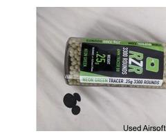 Nuprol rzr 3300 0.25 green tracer 6mm bbs