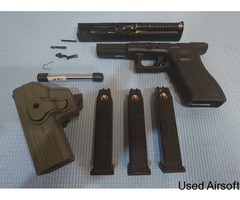 Army Armament Glock 17 package.