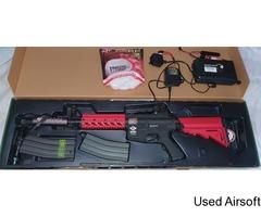 G&G Armament Combat Machine CM16 Raider + Accessories