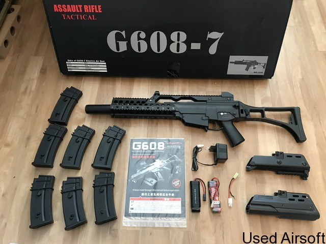 G608-7 rifle plus magazines and extras - 1