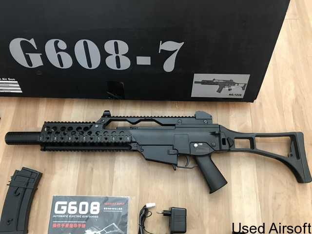G608-7 rifle plus magazines and extras - 2