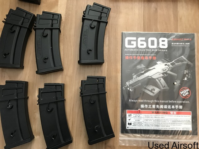 G608-7 rifle plus magazines and extras - 3