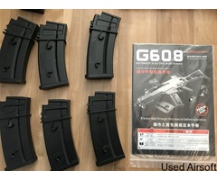 G608-7 rifle plus magazines and extras - Image 3