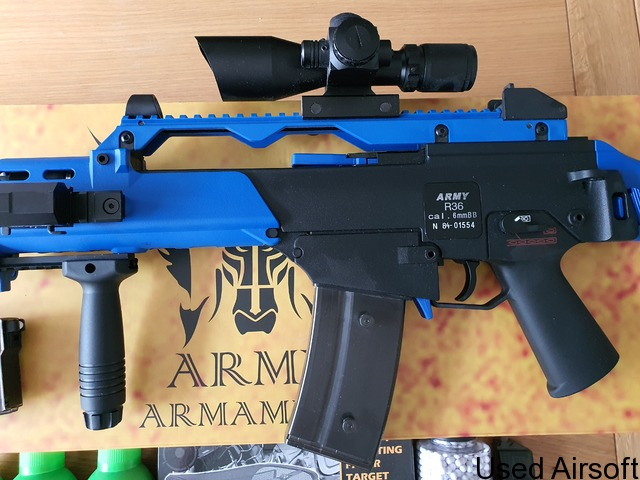 Army Armament G36 Two Tone with lots of extras - 2