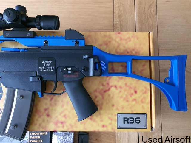 Army Armament G36 Two Tone with lots of extras - 4