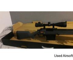 Ares Amoeba Striker AS-01 Sniper Rifle Urban Grey
