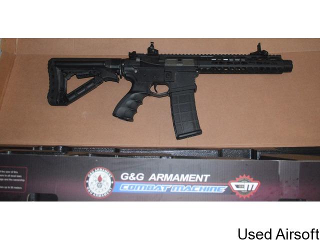 """G&G CM16 Wild Hog 9"""" M4 Rifle - 1"""