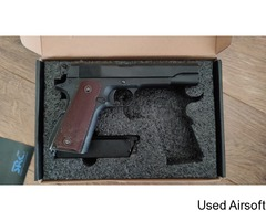 *UPGRADED* SRC 1911 with Maple leaf barrel, hopper and rubber