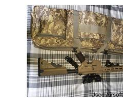 M4 Gun, Full Accessories & Equipment £400