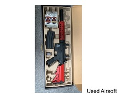 Lancer tactical m4 airsoft gun