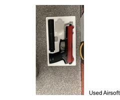 Stealth assassin gas non blowback pistol