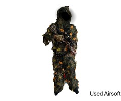 Homemade Ghillie Suit