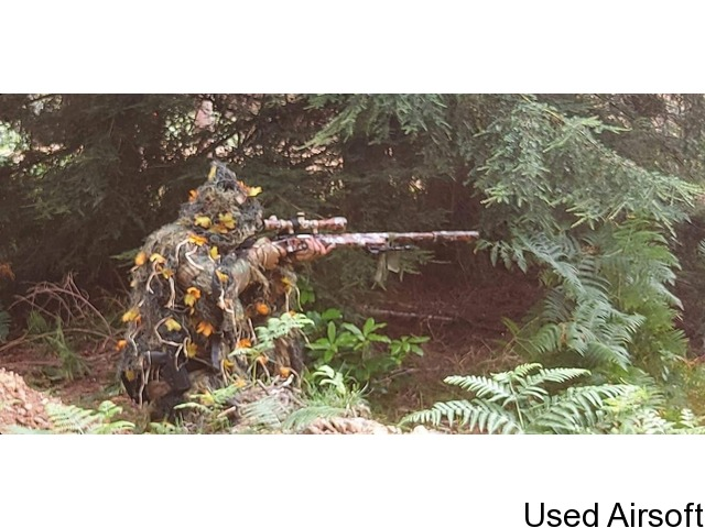 Homemade Ghillie Suit - 2