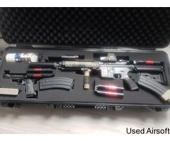 Tokyo marui m4 recoil 416D n 1911 starter bundle - Image 1