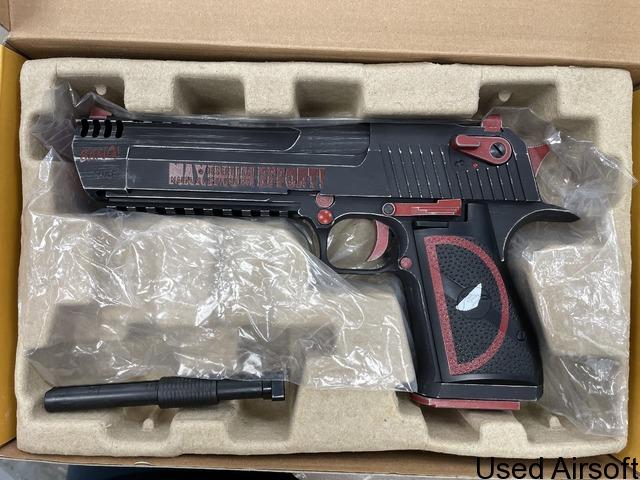Cybergun Desert Eagle Deadpool - 3