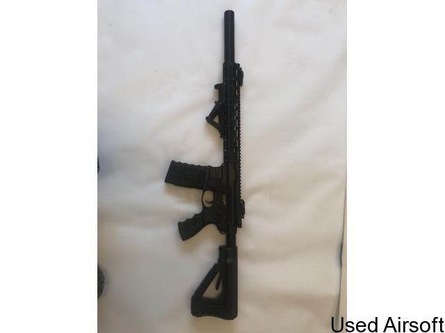 """G&G CC16 WILDHOG 12"""" FULLY UPGRADED WITH EXTRAS - 3"""