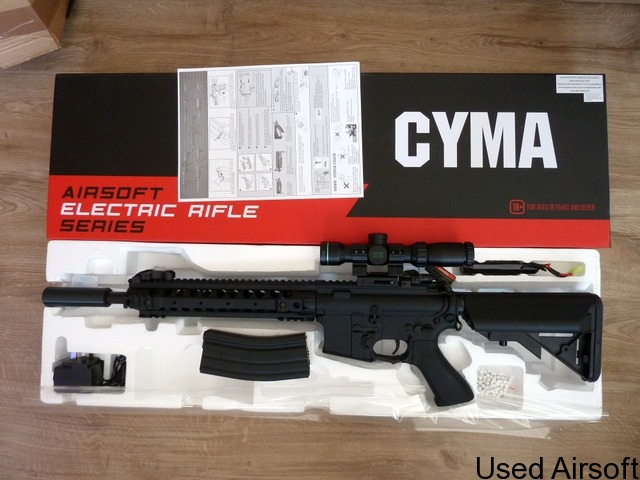 Cyma M4 CM620 based DMR - 1