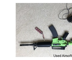 KWA M4A1 2GX PRO AIRSOFT RIFLE IN TWO TONE GREEN