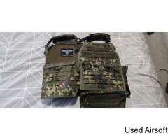 invader gear flecktarn chest rig and extras