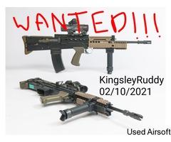 WANTED!!! WE L85/SA80 GBBR