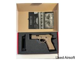 Secutor - Gladius Magna VI - 17 Series Co2 Blowback Pistol