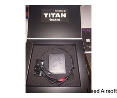 Gate Titan Expert AND warehead motor (without bluelink, comes with usb titan link and patch)