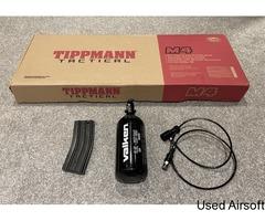 TIPPMANN MK2 M4 HPA CARBINE V2 | HPA GAS TANK | LINE | OPTIONAL 3-9 X 40 SCOPE - Image 4