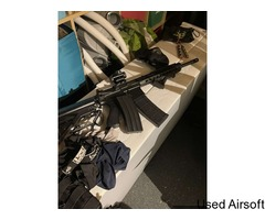 Bundle airsoft kit, will reduce price for faster sale