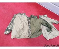 Mixed Combat shirts M/L