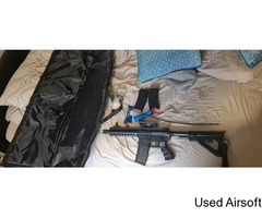 Airsoft gun and kit for sale