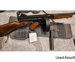 Tommy Gun AEG with Drum Mag – FULL AUTO Over £200